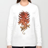 dungeons and dragons Long Sleeve T-shirts featuring Dragons by sandara