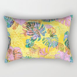 Kona Tropic Yellow Rectangular Pillow