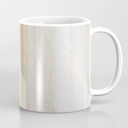 Rustic gray gold yellow vintage white marble Coffee Mug