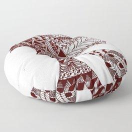 Vertical Floor Pillow