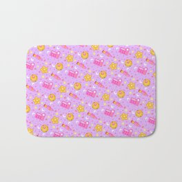 Usagi's Items Pattern / Sailor Moon  Bath Mat