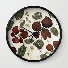 Roses Are Dead Wall Clock