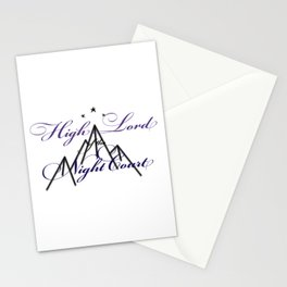HIGH LORD OF THE NIGHT COURT inspired Stationery Cards