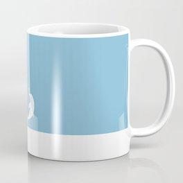 Ocean Dolphin Blue Heart Love Coffee Mug