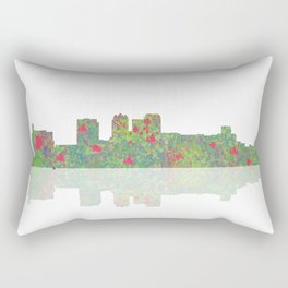 Birmingham, Alabama Skyline Rectangular Pillow