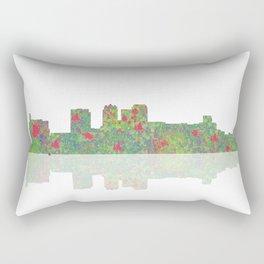 Birmingham, Alabama Skyline Rectangular Pillow