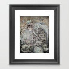 Time in Captivity Framed Art Print