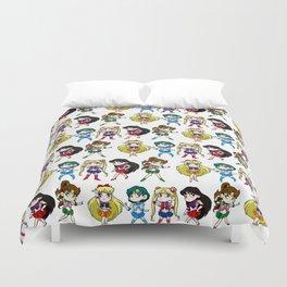 Sailor Senshi Duvet Cover