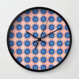 Mandala Henna Sacral Art - Vishudha - Pattern Wall Clock
