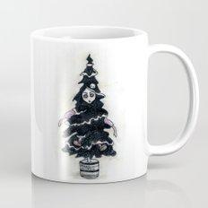 Black Xmas Tree Mug