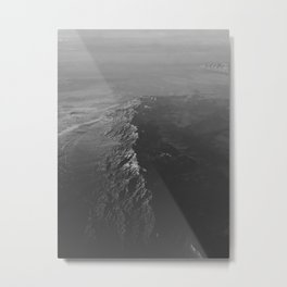 The Water (Black and White) Metal Print