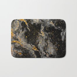 Galaxy (black gold) Bath Mat