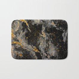 Galaxy (black gold) Bath Mat