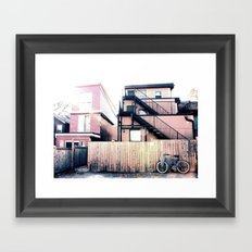 Parking 2 Framed Art Print