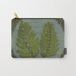Celtic Ferns Carry-All Pouch