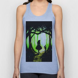 alice and rabbits Unisex Tank Top