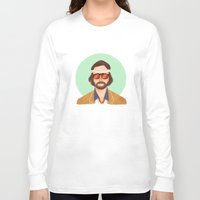 tenenbaum Long Sleeve T-shirts featuring Richie Tenenbaum by Galaxyspeaking