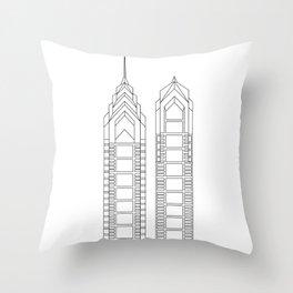 Liberty 1 Liberty 2 Throw Pillow