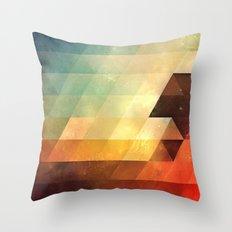 lyyt lyyf Throw Pillow