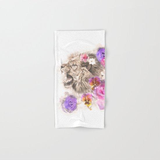 Lion Spirit Hand & Bath Towel
