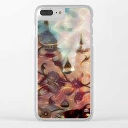 Halle in a Carpet Image 2 Clear iPhone Case