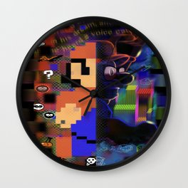 MarioBros II Wall Clock