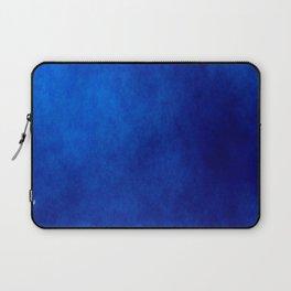 Misty Deep Blue Laptop Sleeve