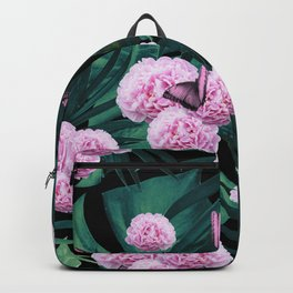 Tropical Peonies Dream #1 #floral #foliage #decor #art #society6 Backpack