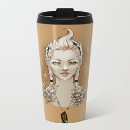 Golden Metal Travel Mug