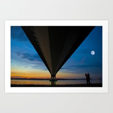 The Lone Photographer Art Print