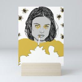 Honeybee Mini Art Print
