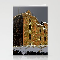 scotland Stationery Cards featuring Scotland Winter by dacarrie