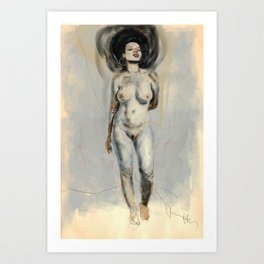 AFRO-FUSION Art Print