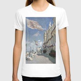 1870-Claude Monet-Hôtel des roches noires. Trouville-58 x 81 T-shirt