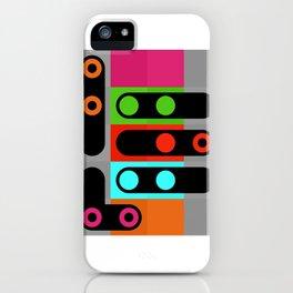 points et lignes 4 iPhone Case