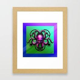 Skull Octopus Framed Art Print