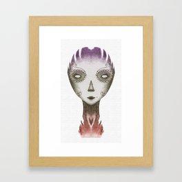 colorful dead Framed Art Print