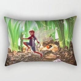Skipping Fairy Rectangular Pillow