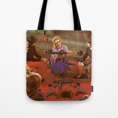 Aunt Daisy's Tea Party Tote Bag