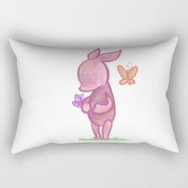 Spring Piglet Rectangular Pillow