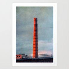 cheminée Art Print
