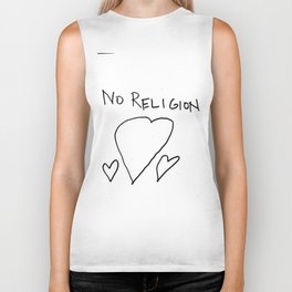 No Religion_ Thshirt for atheists Biker Tank