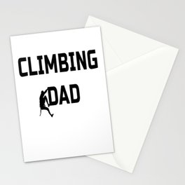 Climbing Dad Stationery Cards