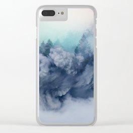 Haunt me again Clear iPhone Case