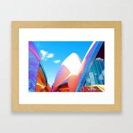Technicolor opera Framed Art Print