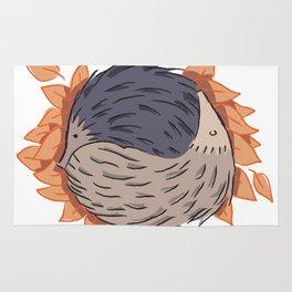 Hedgehog Yin Yang Rug