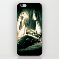 horror iPhone & iPod Skins featuring Horror by Joe Roberts
