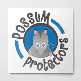 Possum Protectors Metal Print