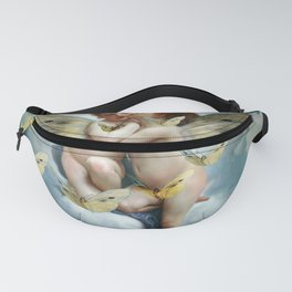 """Angels in love in heaven with butterflies"" Fanny Pack"