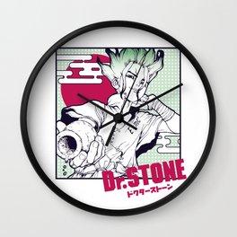 Dr Stone Wall Clock